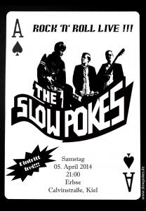 +++ Slow Pokes live +++ 05. April 2014 +++ Erbse, Kiel