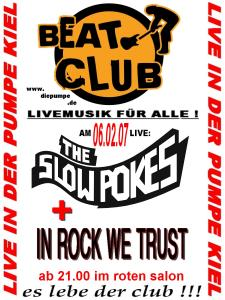 Der Beatclub ruft!!! Und deswegen jetzt der offizielle Flyer zum selber basteln! Ich dreh durch...